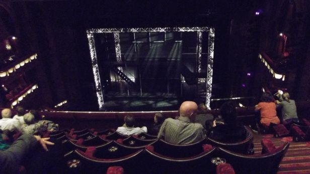 View from Dress Circle of Prince Edward Theatre