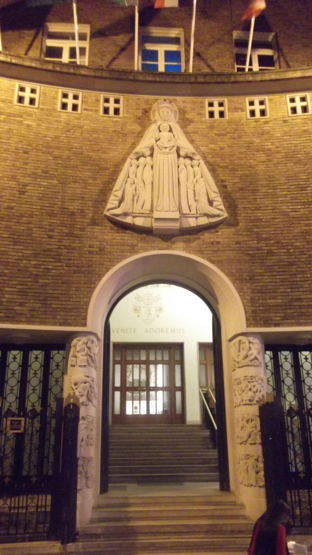 A hidden church 'Church of Notre Dame De France'